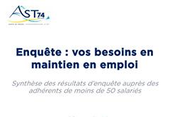AST74 contribue au maintien en emploi