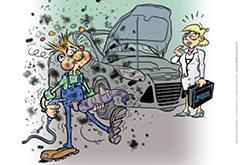 Filtres à particules automobiles