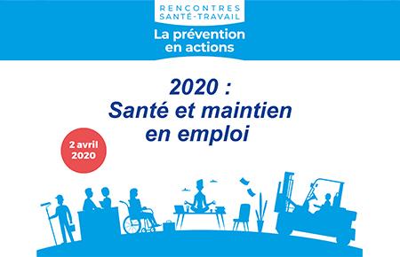 24 septembre 2020 - Rencontres Santé Travail