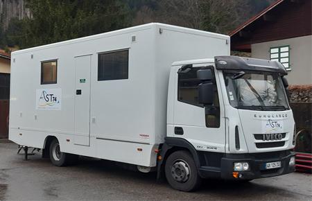 AST74, centre mobile  BTP
