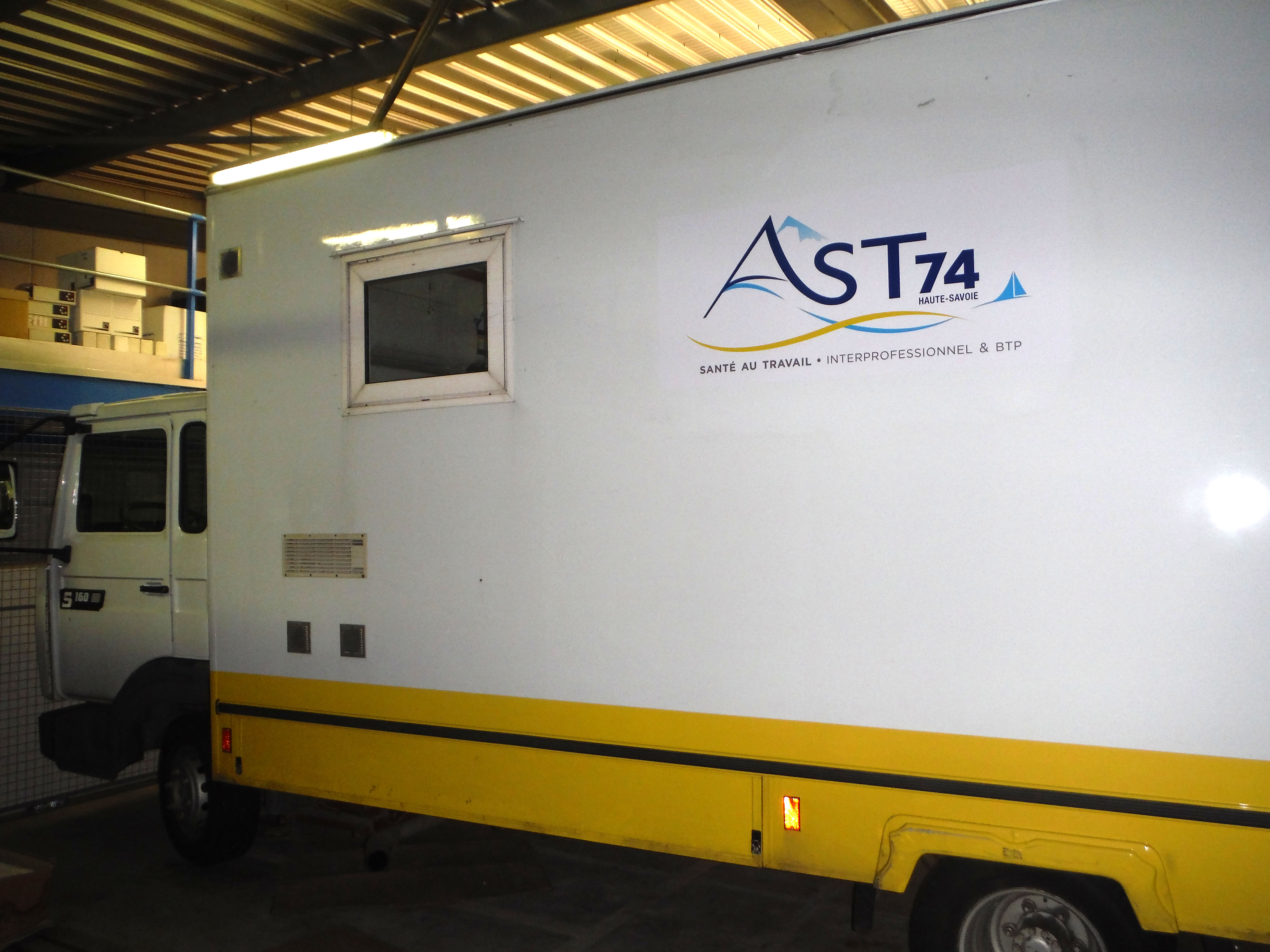 AST74, centre mobile  BTP