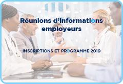 Réunions d'informations employeurs
